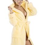 Dámský župan Diana žlutý