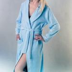 Dámský župan FR 091 modrý