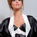Dámský župan Hamana Ariadna gown black