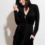 Dámský župan Hamana Iness gown black