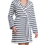 Dámský župan Robes SS17 Robe Striped – Triumph