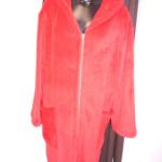 Dámský župan s kapucí na zip 3819 – Vestis