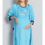 Dámský župan s mateřskou košilí Baby