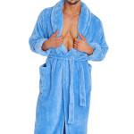 Pánský župan 130 modrý
