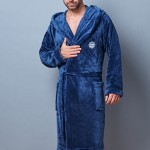 Pánský župan 7105 blue