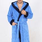 Pánský župan Cosimo modrý