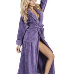 Župan Eliza dlouhý fialový